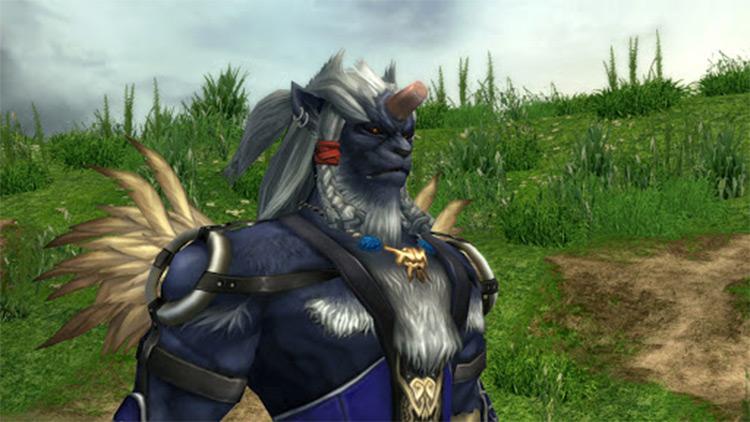 Kimahri Ronso FFX screenshot