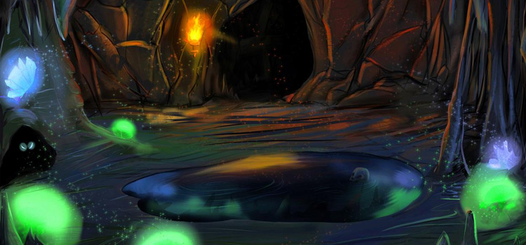 Magical cave painting by SpeedSnake