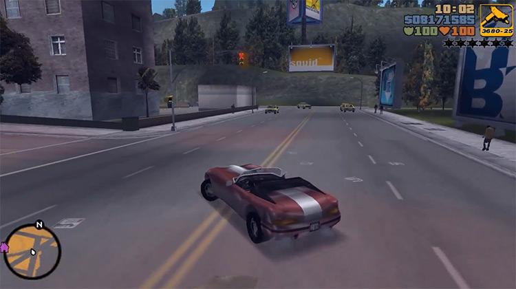 Banshee GTA3 Car screenshot