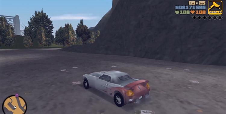 Yakuza Stinger GTA3 Car screenshot