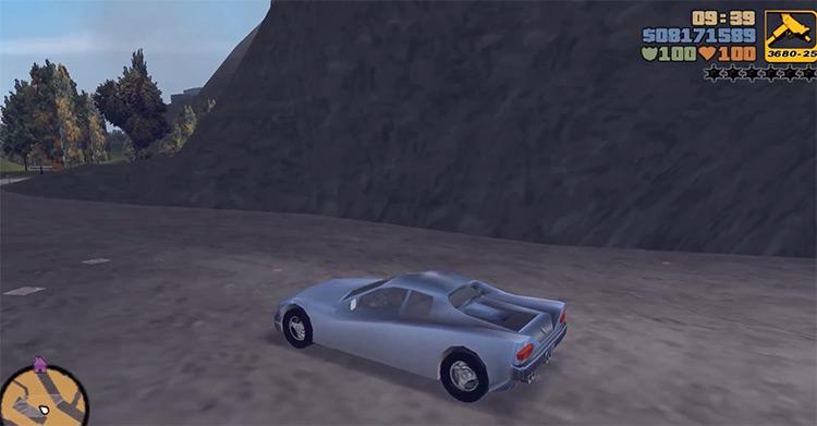Cheetah GTA3 Car screenshot