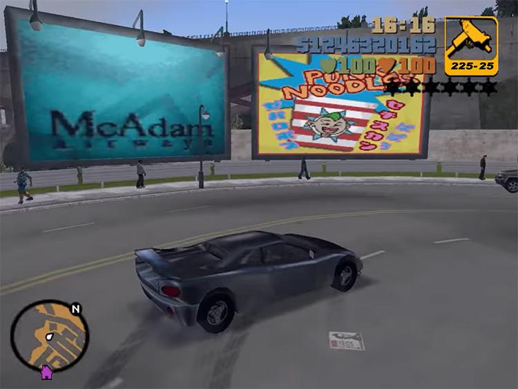Infernus GTA3 Car screenshot
