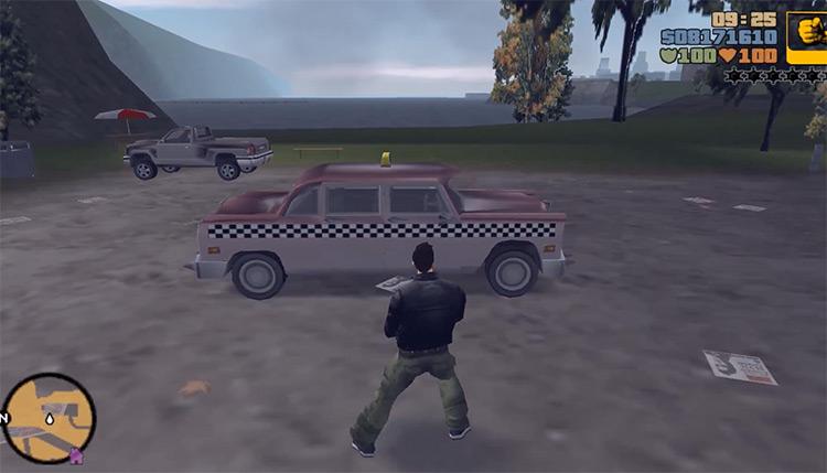 Borgnine GTA3 Car screenshot
