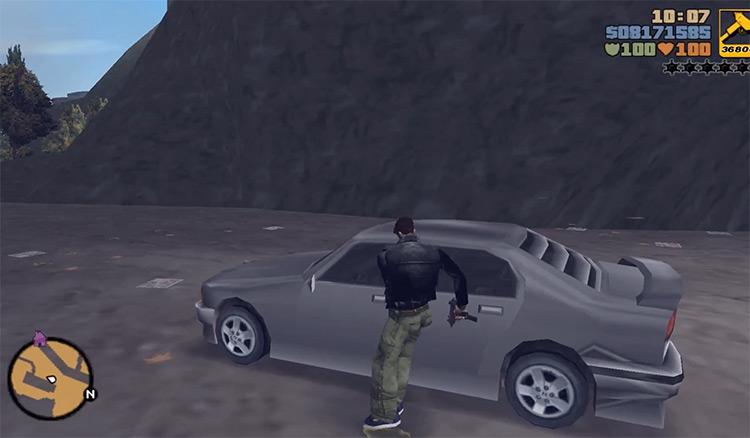 Mafia Sentinel GTA3 Car screenshot