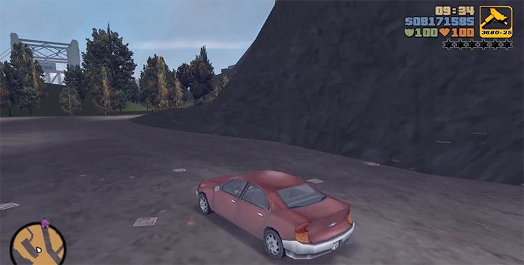 Kuruma GTA3 Car screenshot