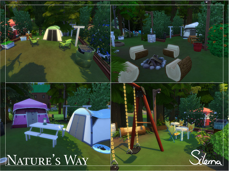 Nature's Way Sims 4 Camping Mod