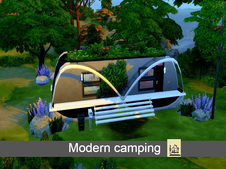 Modern Camping Sims 4 Mod