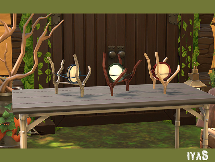 Dish Rack Sims 4 Mod screenshot