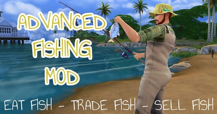 Advanced Fishing Mod Sims 4 Camping Mod