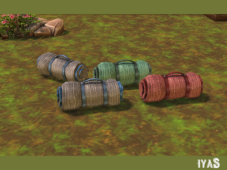 Sleeping Bag Sims 4 Mod screenshot