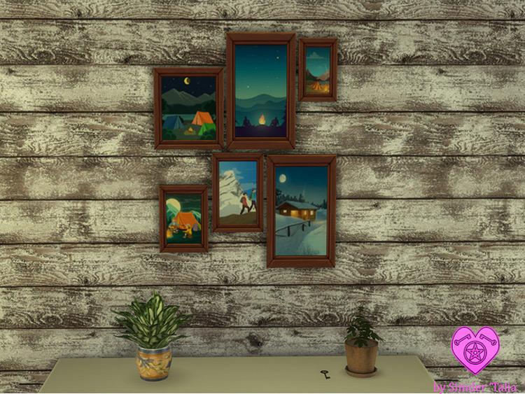 Travel Fam Photos Sims 4 Mod