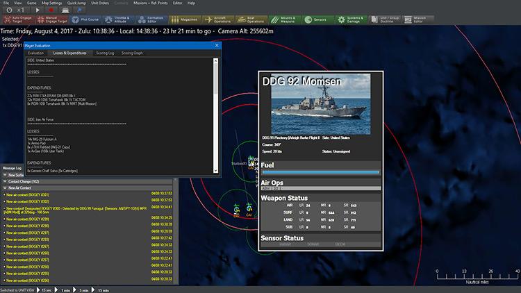 Command: Modern Operations gameplay screenshot