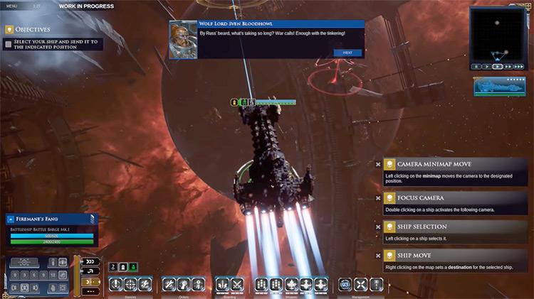 Battlefleet Gothic: Armada 2 gameplay