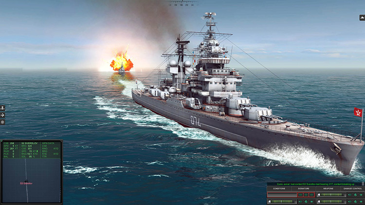 Battleship in Cold Waters gameplay screenshot