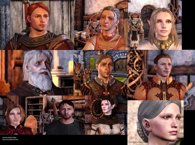 Dragon Age Redesigned DAO Mod screenshot
