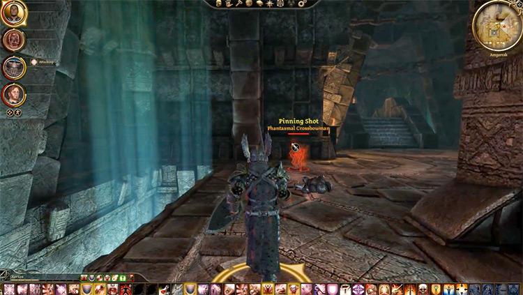 Dragon Age Origins gameplay screenshot