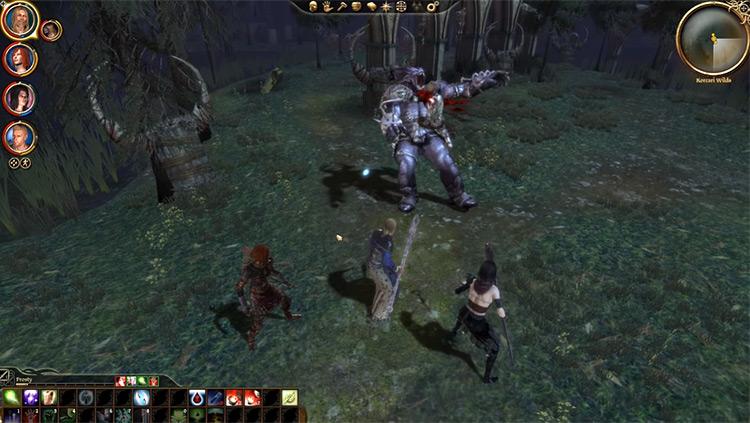 Forced Deathblows DAO Mod gameplay screenshot