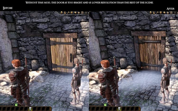 Theta HD Mod gameplay comparison