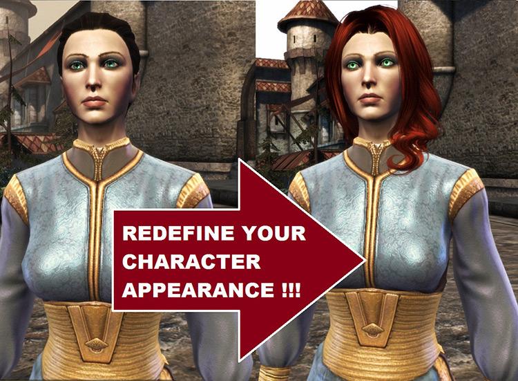 Change Your Hero Anywhere DAO Mod comparison screenshot