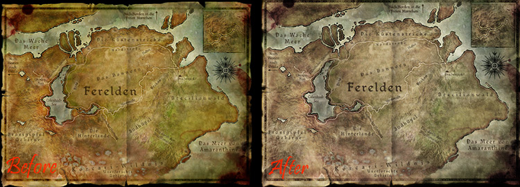 Realistic Worldmap Mod screenshot