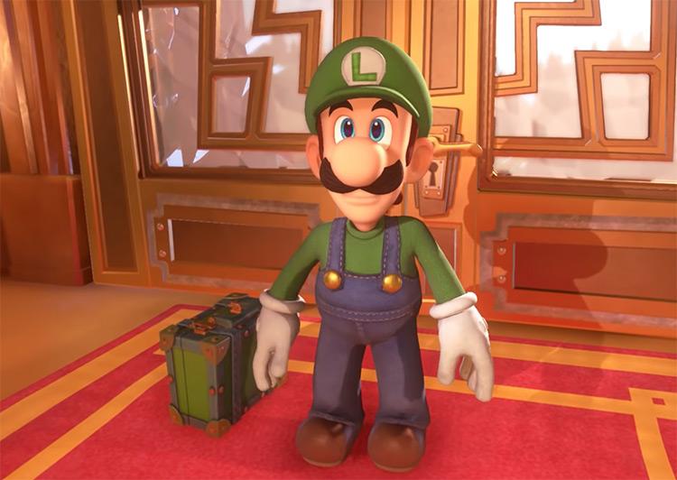 Luigi Character