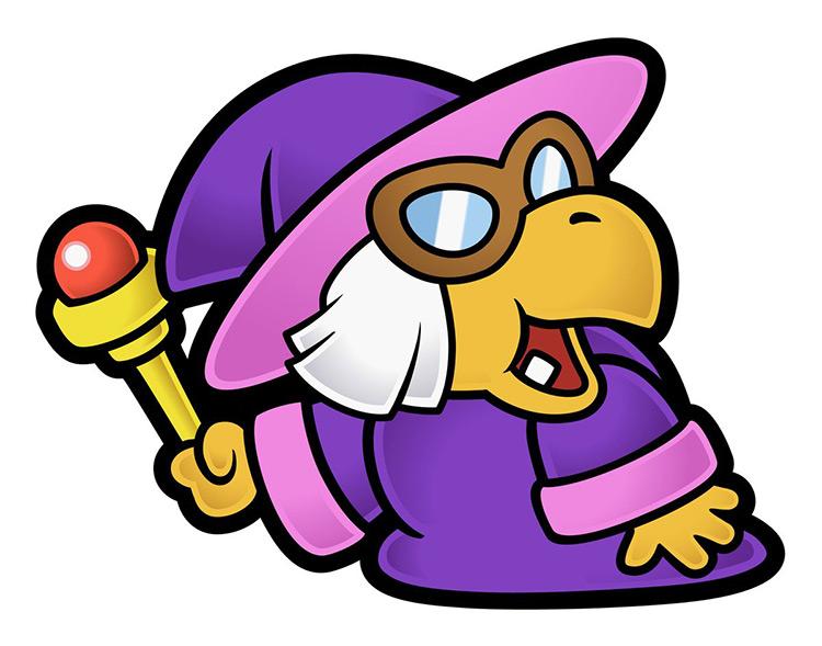 Kammy Koopa Mario Character artwork