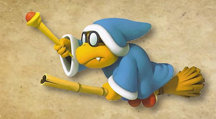 Kamek Mario Character artwork