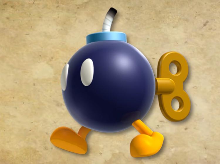 Bob-omb Mario Character artwork