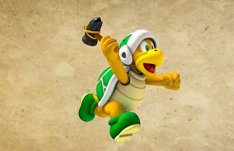 Hammer Bros Mario Character artwork