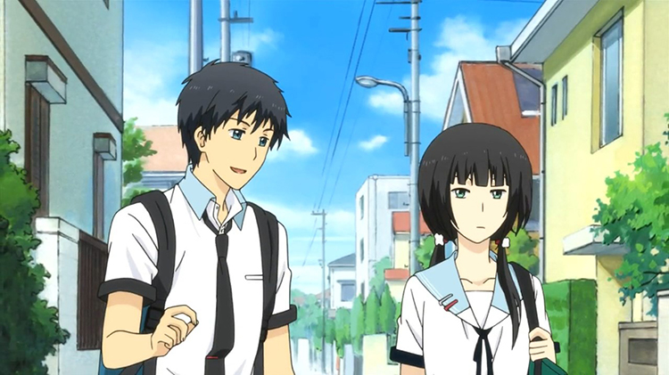 ReLIFE anime screenshot