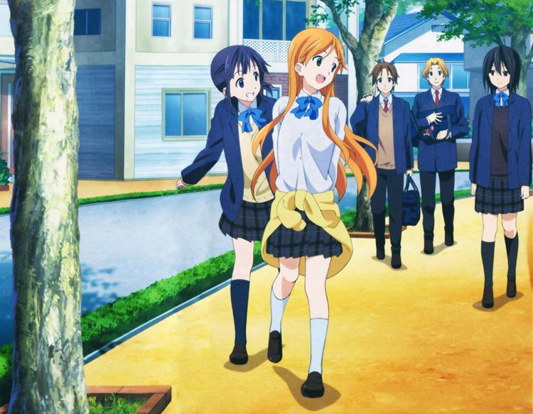 Kokoro Connect anime screenshot