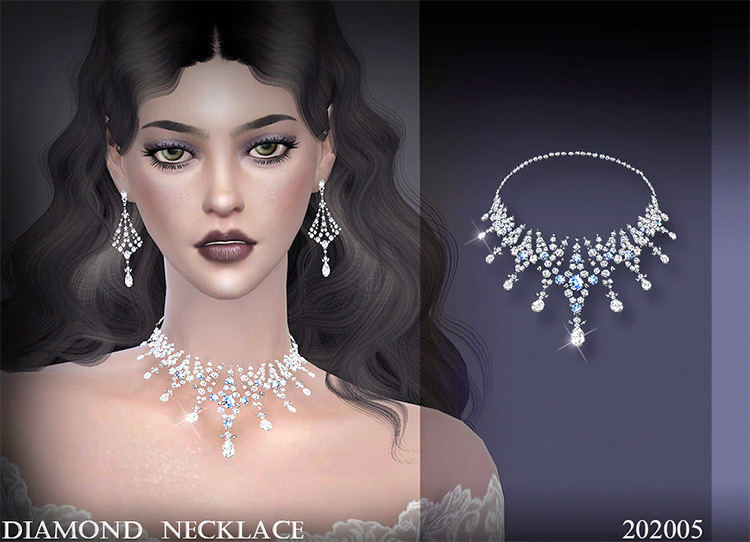LL Necklace 202005 for Sims 4