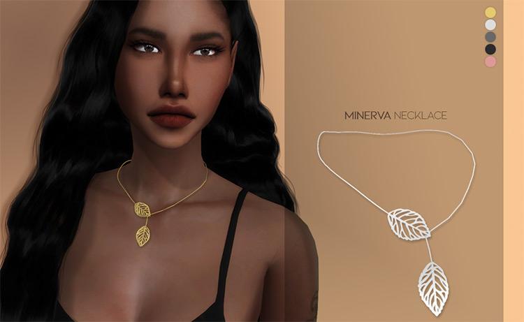 Minerva Necklace Sims 4 CC