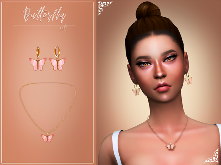 Butterfly Set for Sims 4
