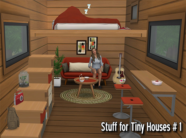 Stuff CC Pack for tiny homes - Stairs