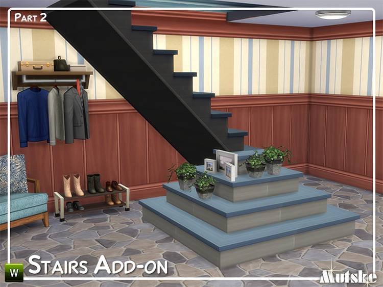 Stairs Add-on pt2 for TS4