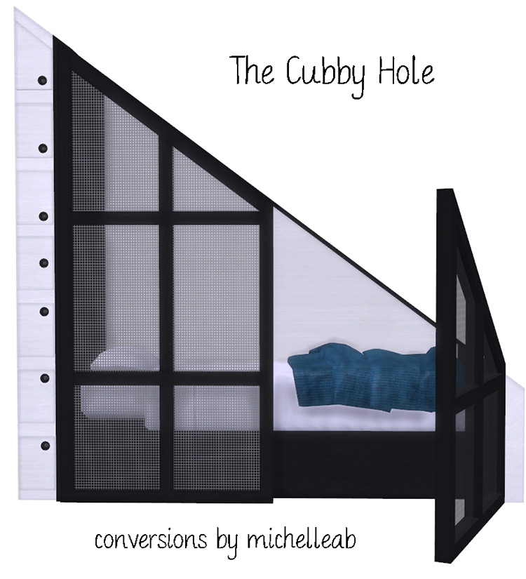 Cubby Hole - Custom Stairs CC