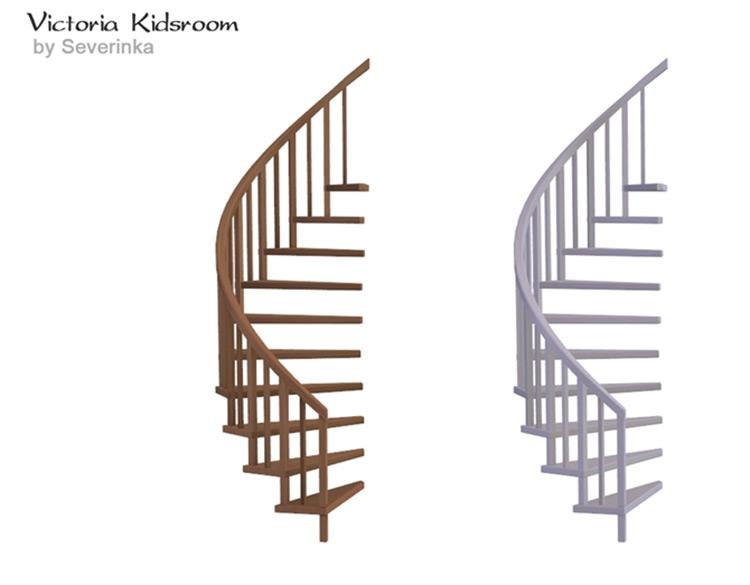 Kids Room Stair Shelf CC