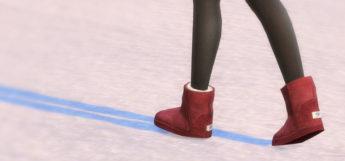 Ugg Boots Classic Mini - Sims 4 Girls Boots CC