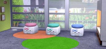 Kawaii Sims4 CC furniture screenshot