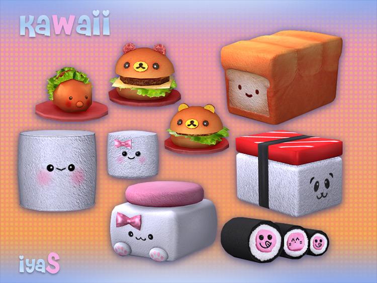 Kawaii Sims 4 CC screenshot