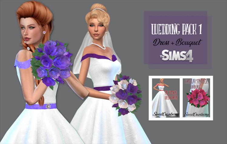 Wedding Pack 1 Sims 4 CC screenshot