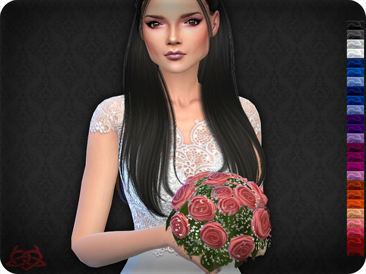 Wedding Bouquet 3 Sims 4 CC