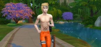 Naruto Conversion mod for Sims 4