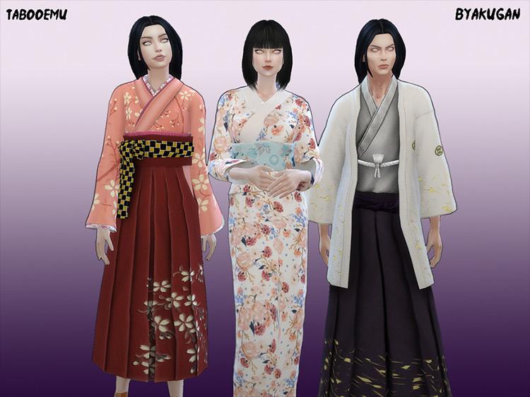 Byakugan CC for Sims 4
