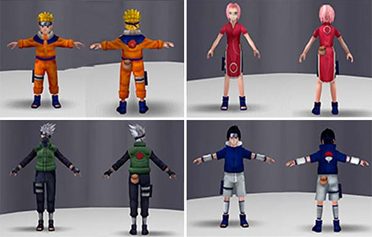 Naruto Toys Pack Sims 4 screenshot