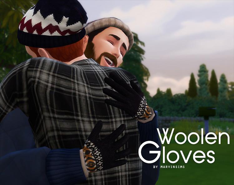 Woolen Gloves Sims 4 CC screenshot