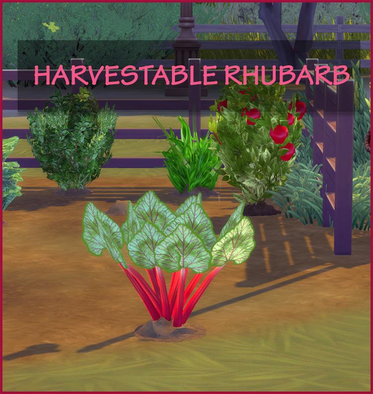 Harvestables Sims 4 CC screenshot