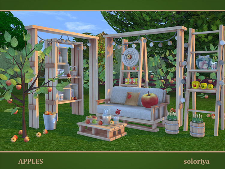 Apples Sims 4 CC screenshot
