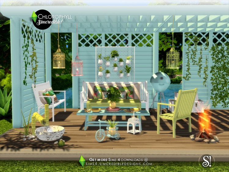 Chlorophyll CC for Sims 4